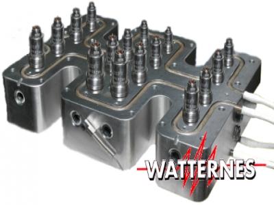Resistências elétricas flexíveis para Manifolds